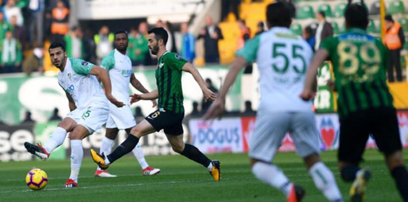 Bursaspor kritik maçta Akhisarspor'u ağırlıyor