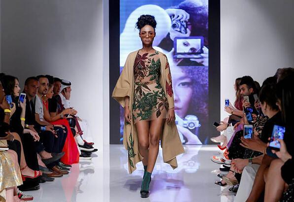 Ezra-Tuba Arab Fashion Week'te