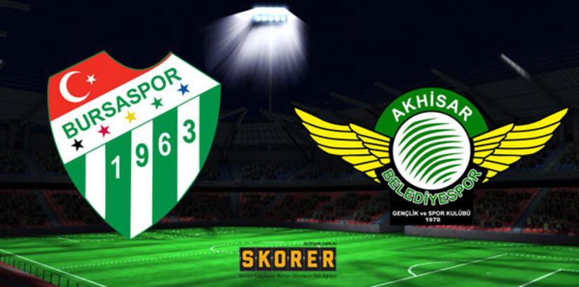 Bursaspor - Akhisarspor: 0-0