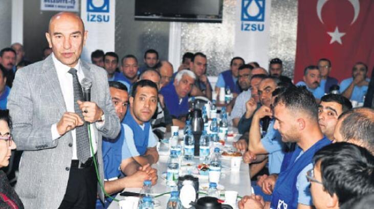 'Umudu İzmir yeşertecek'