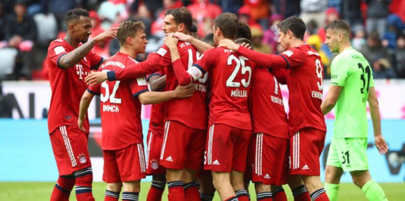 Bayern Münih farklı kazandı!