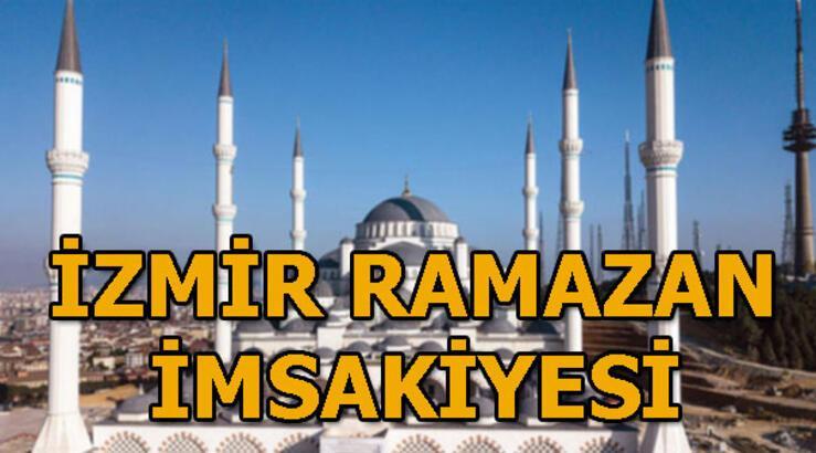 İzmir'de iftar saat kaçta? 2019 İzmir Ramazan imsakiyesi