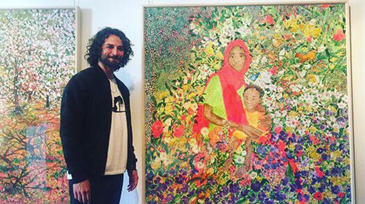 'Seni Seviyorum Anne' tablosu Birkan Sokullu'nun