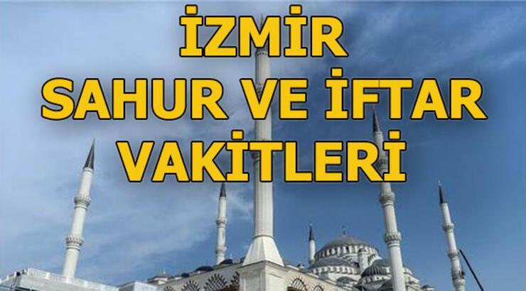 İzmir'de bu gece sahur saat kaçta? 9 Mayıs İzmir sahur ve iftar vakitleri