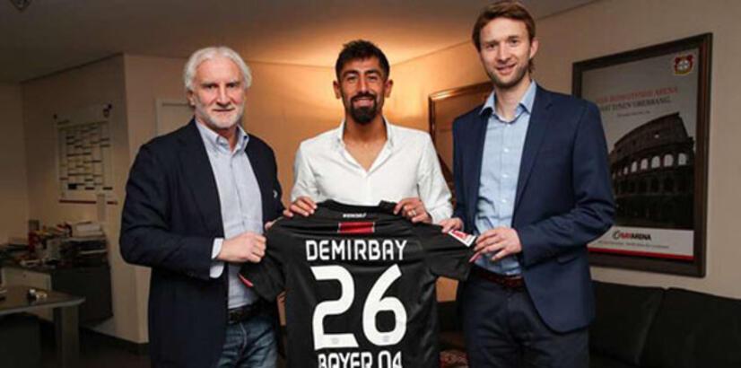 Kerem Demirbay, Bayer Leverkusen'e imza attı!