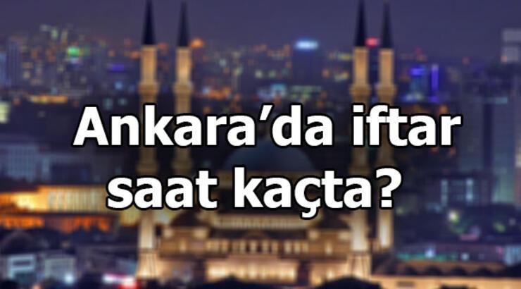 Ankara imsakiyesi   Ankara'da iftar saati - 9 Mayıs Perşembe