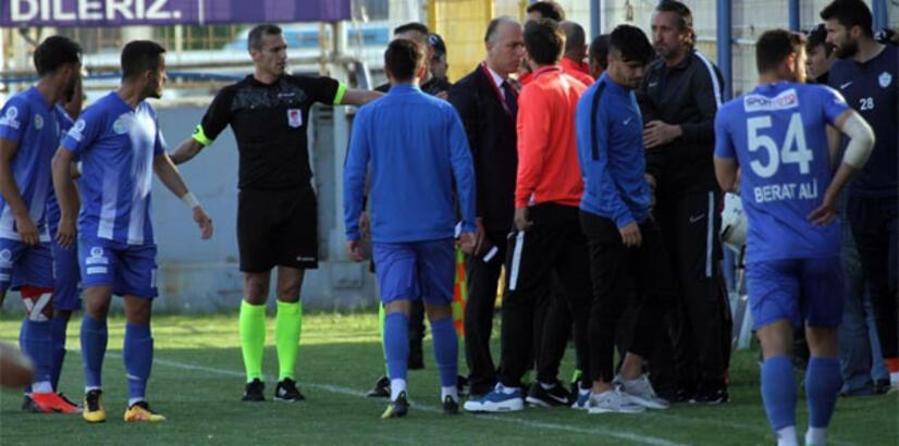Tuzlaspor, rövanş maçına çıkmama kararı aldı