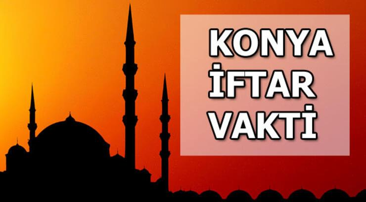 Konya'da iftar saat kaçta olacak? Konya iftar saatleri