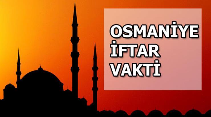 Osmaniye'de iftar saat kaçta olacak? Osmaniye iftar saatleri