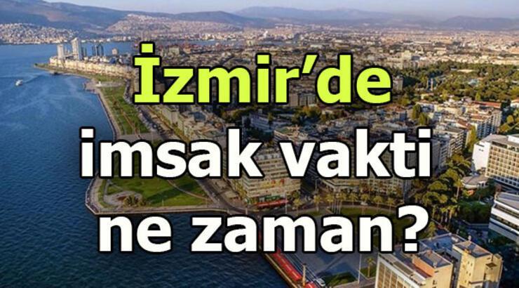 İzmir imsak saati | İzmir'de sahur saat kaçta?