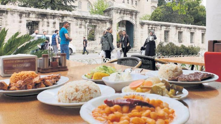 Süleymaniye'de geleneksel lezzet