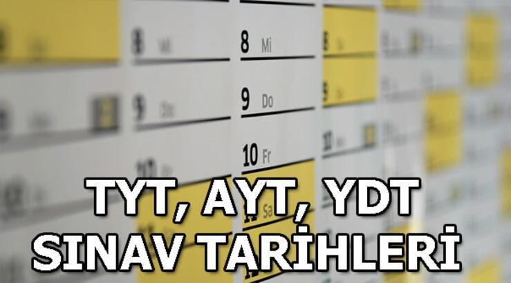 YKS ne zaman? 2019 üniversite sınavı tarihi! TYT, AYT, YDT sınav tarihleri