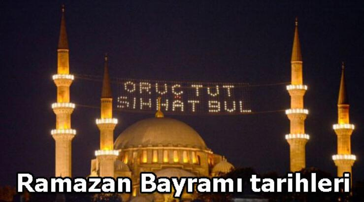 Ramazan Bayramı kaç gün tatil? Ramazan Bayramı hangi günlere denk geliyor?