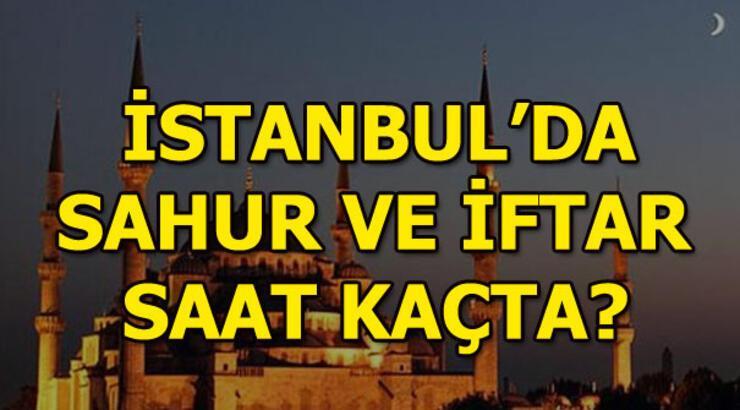 17 Mayıs İstanbul sahur ve iftar vakitleri! Cuma günü İstanbul'da sahur saat kaçta?