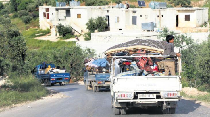 Rejimin hedefi Halep Lazkiye yolunu açmak
