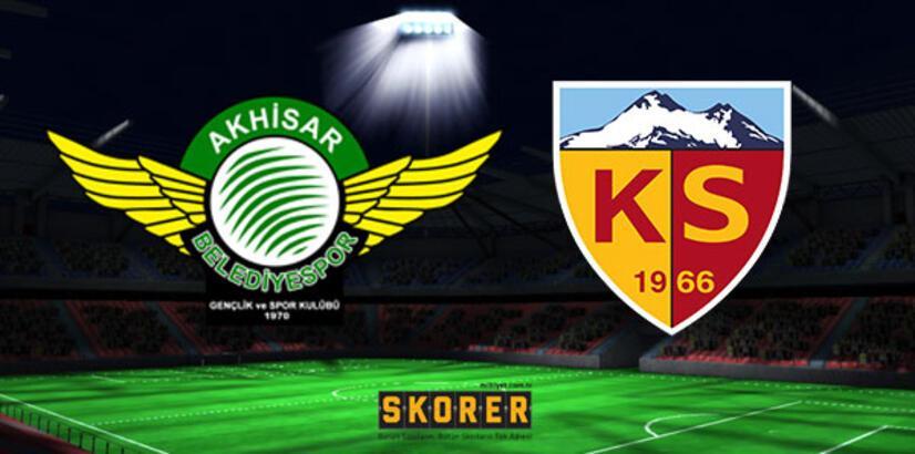 Akhisarspor - Kayserispor: 2-2
