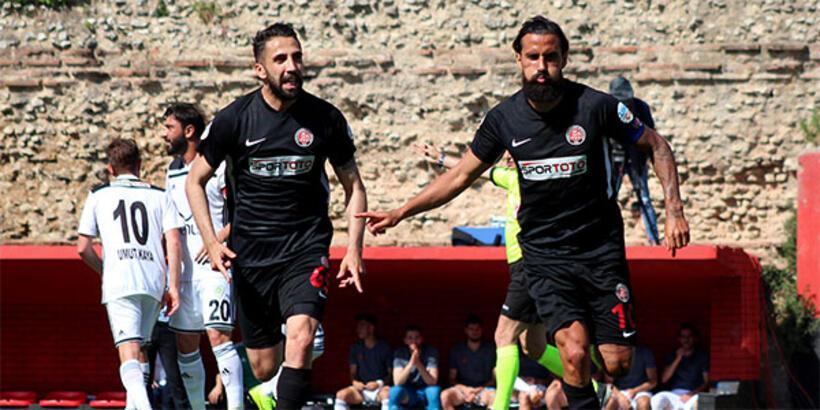 Fatih Karagümrük-Manisa Büyükşehir Belediyespor: 2-0