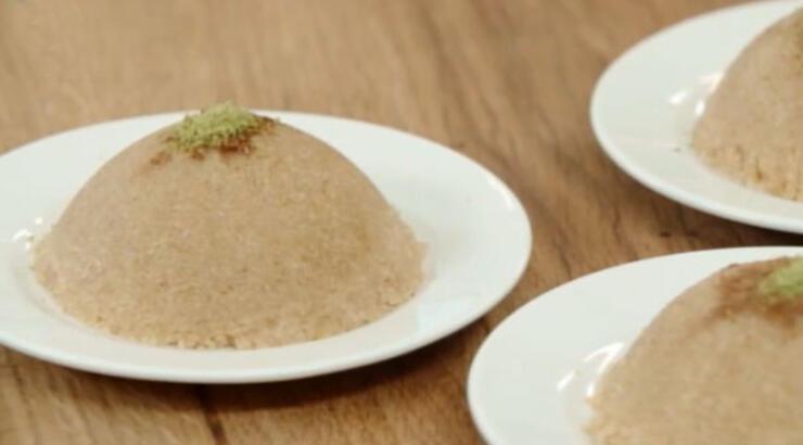Dondurmalı irmik helvası tarifi - Arda'nın Ramazan Mutfağı