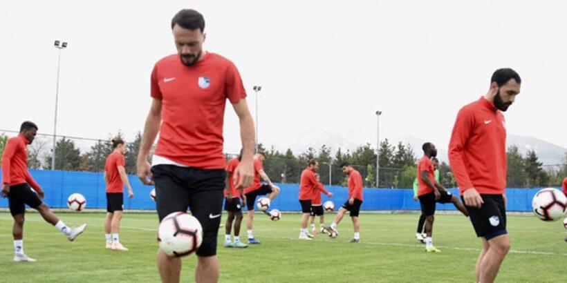 Erzurumspor'da Kayserispor maçı hazırlıkları