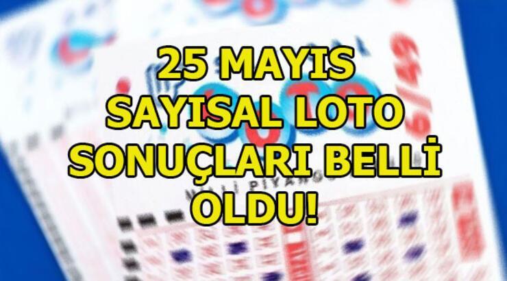 Sayısal Loto sonuçları açıklandı! 25 Mayıs Sayısal Loto sorgulama ekranı