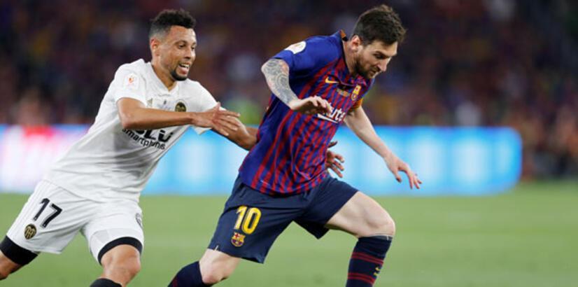 Barcelona'yı deviren Valencia şampiyon oldu!
