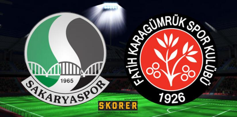 Sakaryaspor-Fatih Karagümrükspor: 0-2