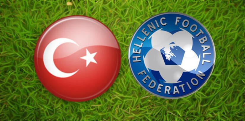 Türkiye Yunanistan maçı ne zaman saat kaçta hangi kanalda?