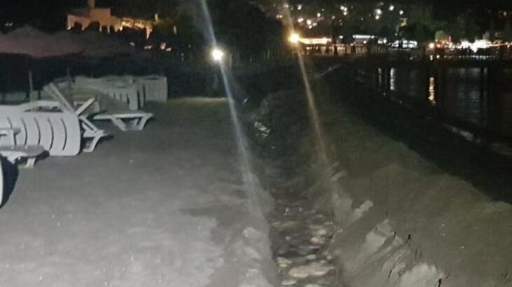 Bodrum'un dünyaca ünlü plajında 'yok artık' dedirten olay!