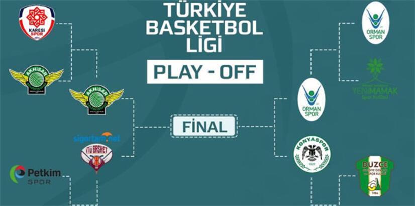 TBSL'de play-off yarı final maç programı belli oldu!