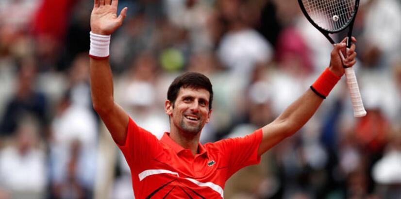 Djokovic üçüncü tura çıktı