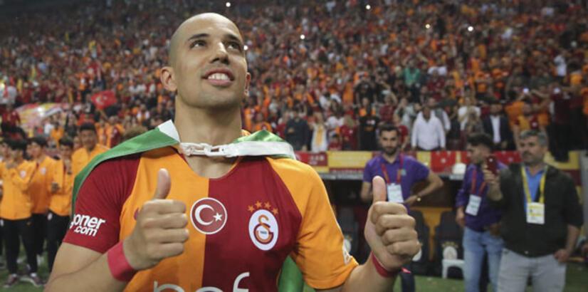 """Sofiane Feghouli: """"Seneye de Galatasaray'da olacağım"""""""