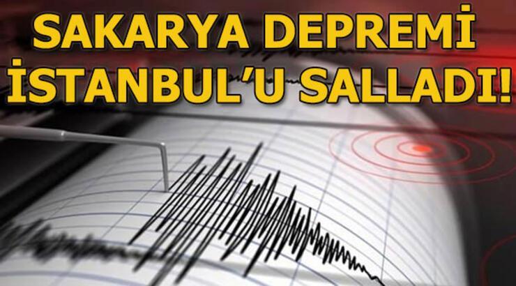 Son depremler! Sakarya'dan korkutan deprem haberi! Son dakika deprem haberleri