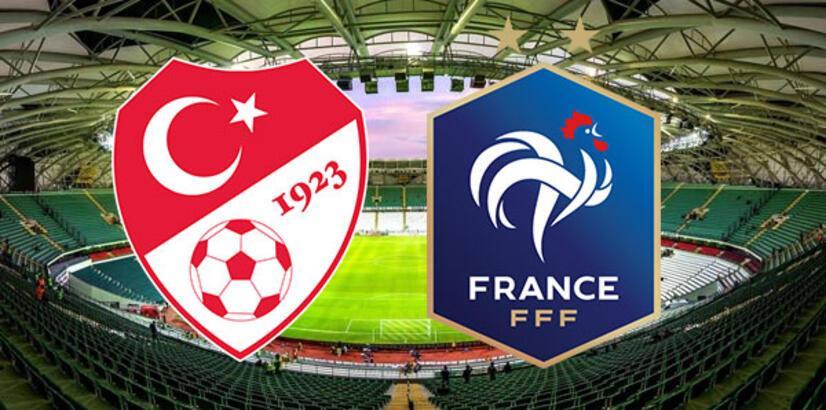 Türkiye Fransa maçı ne zaman saat kaçta hangi kanalda canlı yayınlanacak?