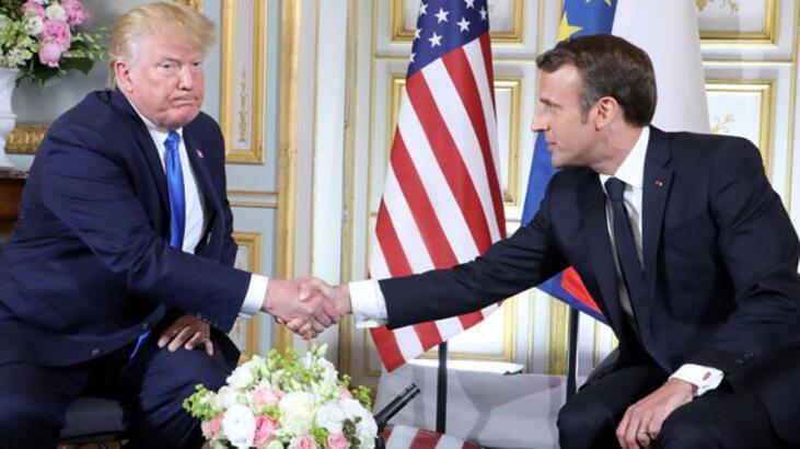 İran'dan Macron'a tepki