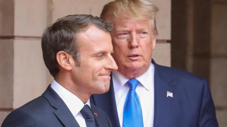 Son dakika | İran Trump ve Macron'u hedef aldı: Füzelerimiz...