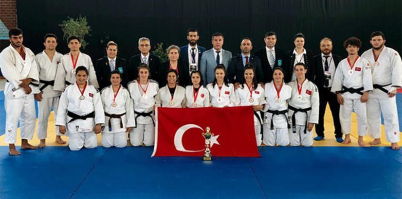 Genç judo milli takımı üçüncü oldu