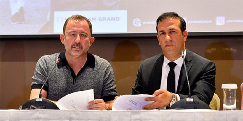 Yeni Malatyaspor'da Sergen Yalçın imzayı attı
