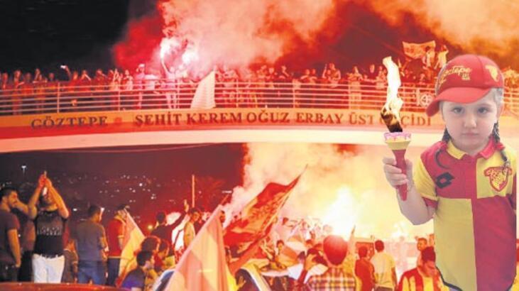 İsyan ateşi İzmir'i sarıyor Göztepe 94 yaşında