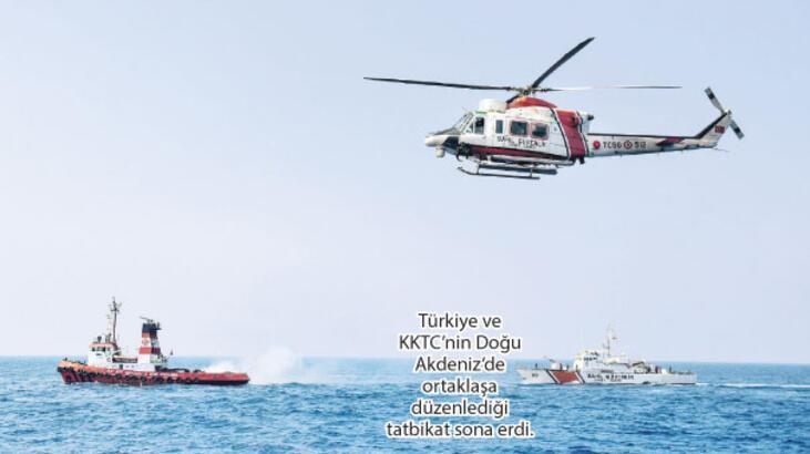 Doğu Akdeniz'de Kıbrıs Barış Harekatı'na özel peç... '1974'e gönderme