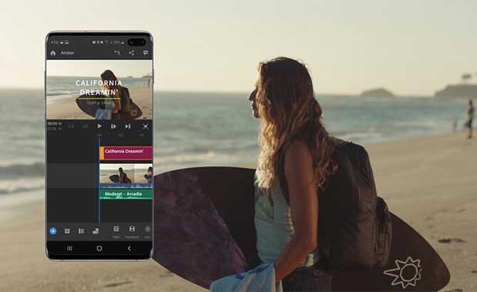 Adobe Premiere Rush for Galaxy kullanıma sunuldu!