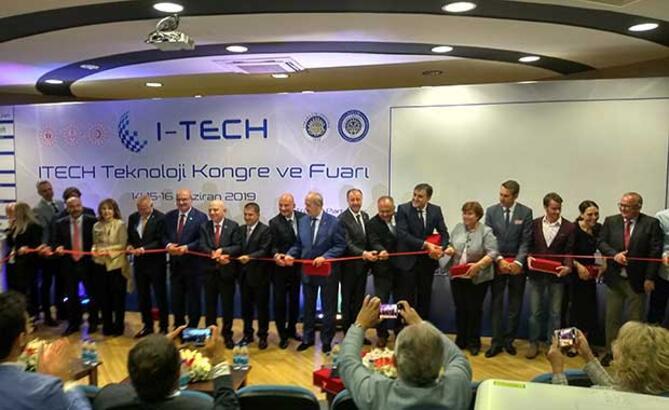 I-Tech teknoloji fuarı kapılarını açtı!