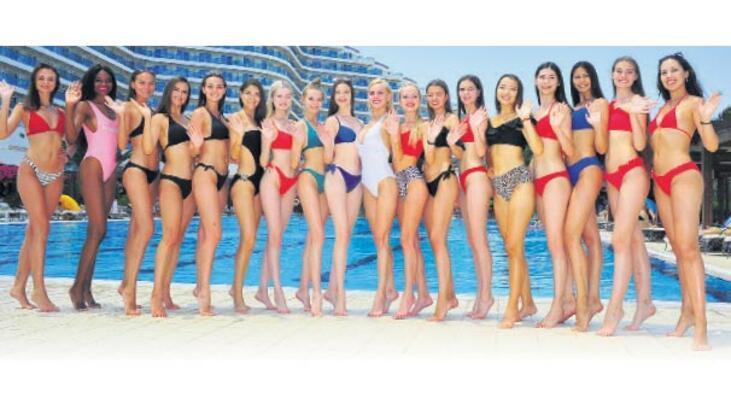 Venosa'da 'Miss Apollon' Rusya