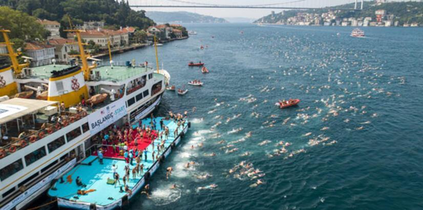 Boğaz'da yüzme şöleni 21 Temmuz'da