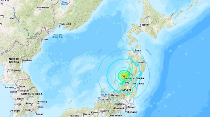 Son dakika... Japonya'da deprem! Tsunami bekleniyor