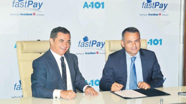 FastPay ile A101'de süratli alışveriş...