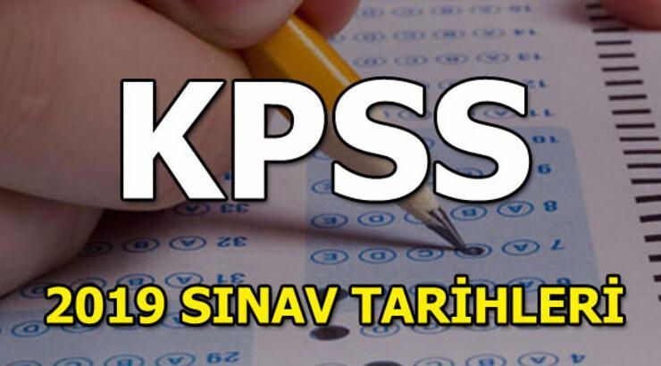 KPSS sınavı ne zaman gerçekleştirilecek? KPSS sınav ve sonuç tarihleri 2019