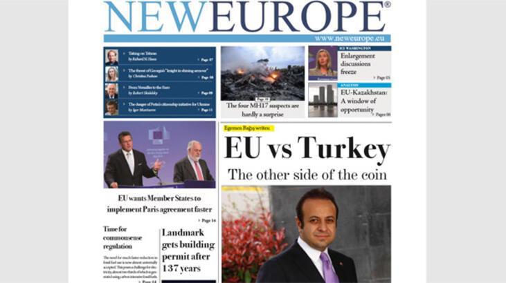 Brüksel basını manşete taşıdı: 'Madalyonun öteki yüzü'