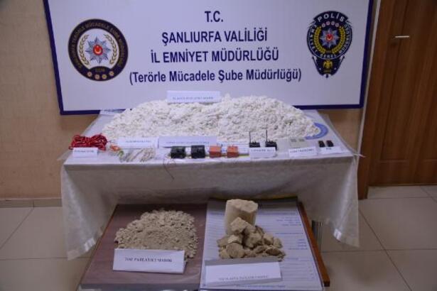 Şanlıurfa'da 44 kilo patlayıcı yakalandı