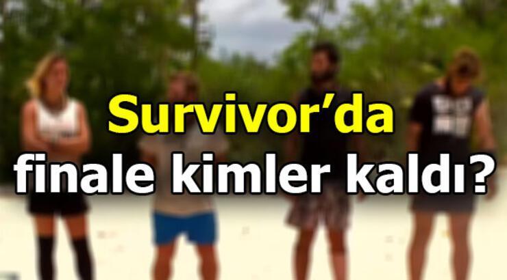 Survivor'da finale kimler kaldı? İşte o isimler...