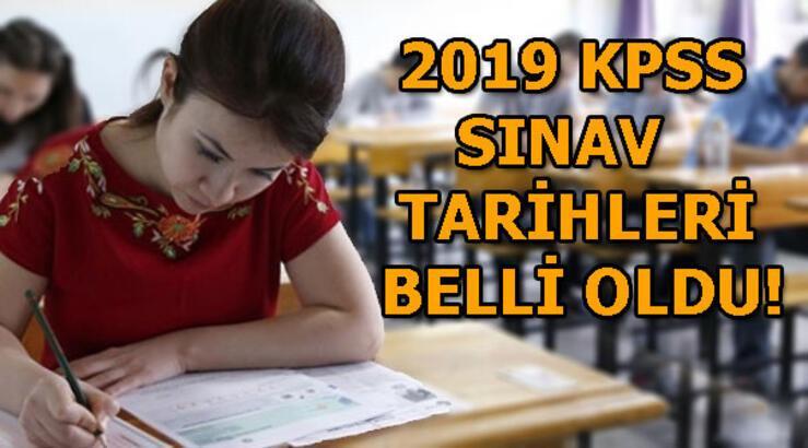 2019 KPSS ne zaman gerçekleştirilecek? KPSS A Grubu ve Öğretmenlik tarihi